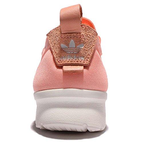 Adidas Originals Delle Donne Originali Zx Flusso Adv Virtù Em Formatori Sole Bagliore Corallo