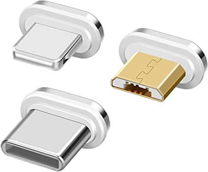 hemamba Pack of 3 Magnetic Adaptors for use with Our USB Magnetic Cable 3 Magnetic Tips