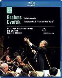 Brahms / Dvorak - Violin Concerto / Symphony No.9 [Blu-ray]