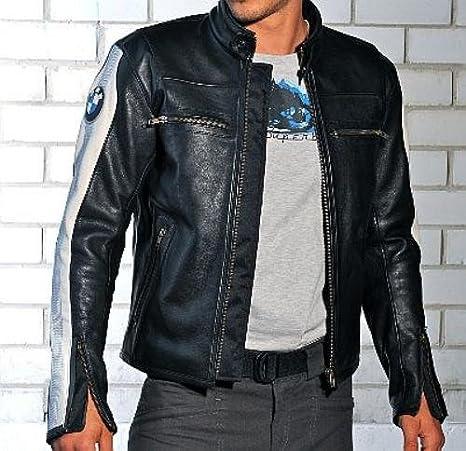 Amazon.com: BMW Club Leather Jacket for Men size M: Automotive