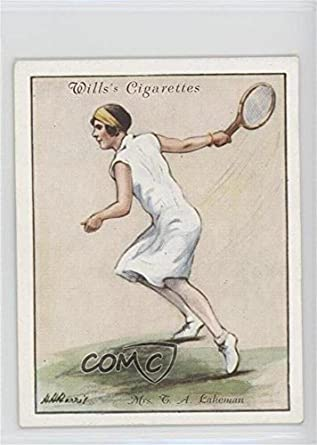 a7d9560bd57a3 Amazon.com: Joan Fry Joan Fry (Trading Card) 1931 Wills Lawn Tennis ...