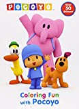 Coloring Fun with Pocoyo (Pocoyo) (Super Color with Stickers)