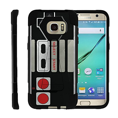 Cheap Samsung Galaxy S7 Edge | SHOCK Series Impact Hard Rubber Durable Unique Creative Cover, by Miniturtle – Game Controller