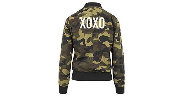 XOXO Bomber Chaqueta Girls Camuflaje Certified Freak: Amazon.es: Ropa y accesorios