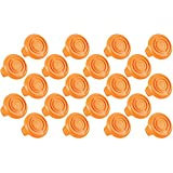 (20 Pack) Trimmer Edger Spool Cap Covers For Cordless Grass Trimmers-20pk