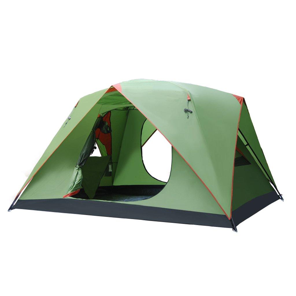 Unbekannt Zelt Im Freien Kampierendes Zelt Vier Jahreszeiten Großen Raum Vierseitige Belüftung Schatten Camping Konto Kann 3-4 Personen Aufnehmen