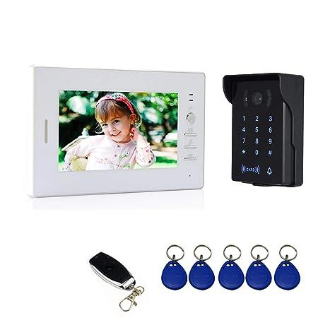 Nudito Videoportero, Interfono Intercomunicador (1 Monitor TFT LCD de 7