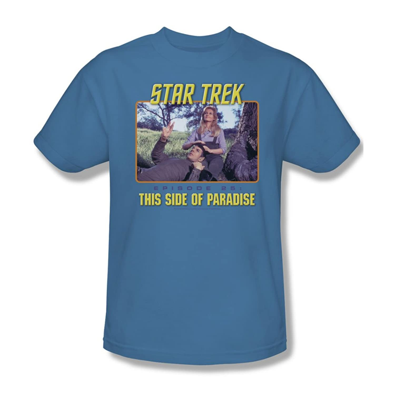 Star Trek - St / Episode 25 Adult T-Shirt In Carolina Blue