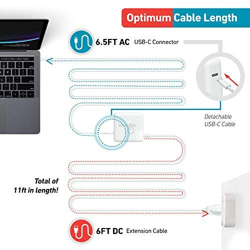 "Genius Charger for Apple MacBook Pro 13"" 2016, 2017, 2018 