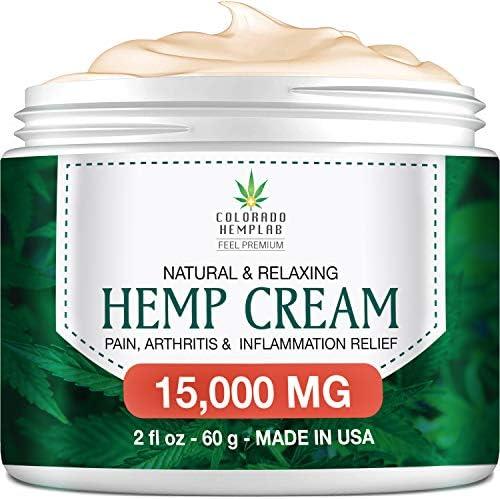 Premium Hemp Cream Pain Relief product image