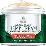 Best Arthritis Creams - Premium Hemp Cream for Pain Relief - Maximum Review
