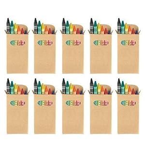 eBuyGB set di pastelli a cera coloranti – Kids party bag Loot Toy  bomboniere c26c6ef50f7c