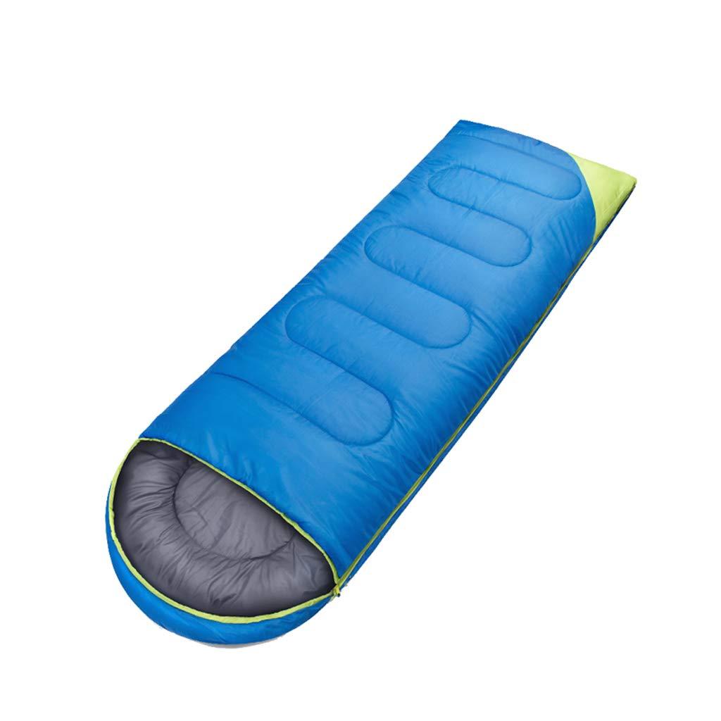 Saco de dormir LCSHAN Poliéster Grueso Impermeable Multifuncional Acampar al Aire Libre Adulto (Color : Azul): Amazon.es: Hogar