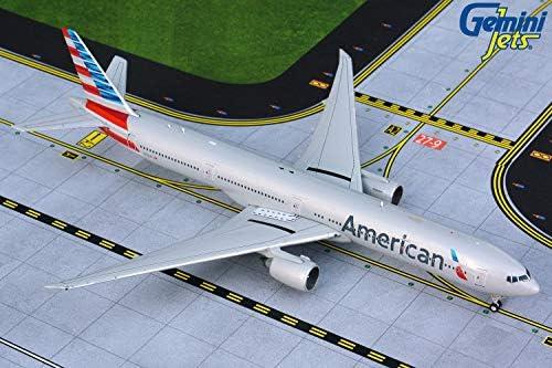 GeminiJets GJAAL1865 1:400 American Airlines Boeing 777-300ER Airplane Model