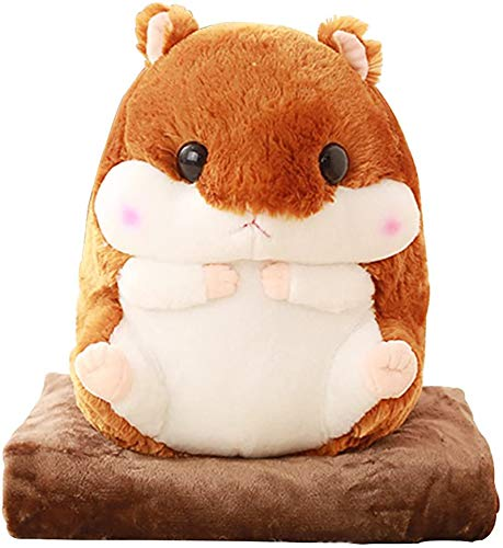 Kosbon 3 in 1 Cute Hamster Plush Stuffed Animal