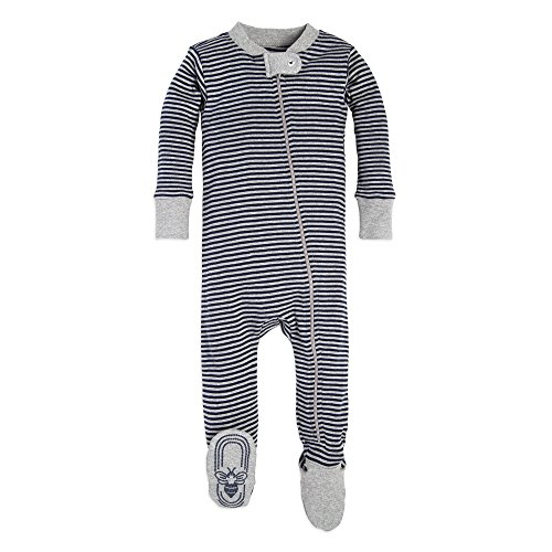 NEW Baby Boys Footed Pajamas Newborn Firetruck Fleece Sleeper Bodysuit Soft PJs