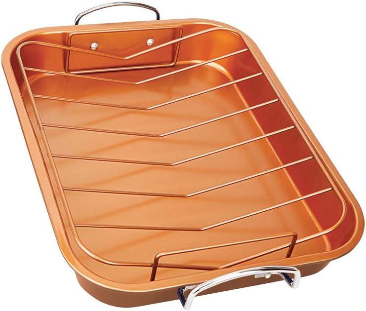W x L x H Contacto Copper Roasting Pan 5,2 L 25 x 35 x 6 cm