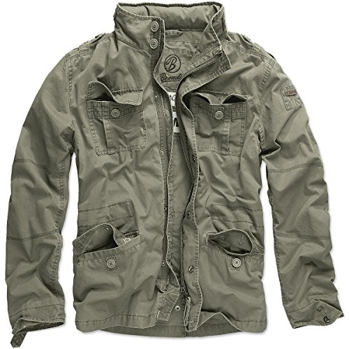 Brandit Men's Britannia Jacke Jacket,oliv,5XL