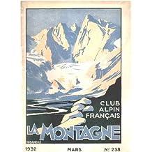 Club alpin français -la montagne n° 238
