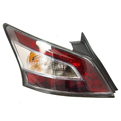 Taillight Tail Lamp Passenger Replacement for 12-14 Nissan Maxima 26555-9DA0B -