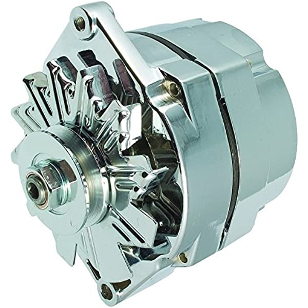 [DIAGRAM_5FD]  Amazon.com: New High Output 100 AMP Alternator Chrome 1 or 3 Wire, Self  Exciting Replacement For GM Chevy 10 SI 10SI DELCO BBC SBC 1965-1986  1100125: Automotive | Gm Delco Alternator Wiring |  | Amazon.com