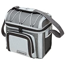 Coleman 12 Can Soft Cooler, Grey