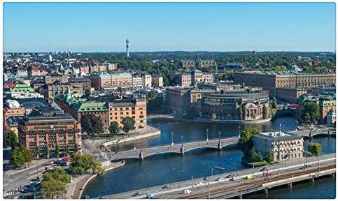 Suecia puentes casas desde arriba ciudades de Estocolmo 1 Tourist ...