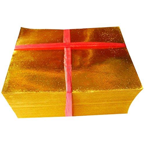 ZeeStar Chinese Joss Paper - Full Gold Foil (Pack of 500) ()
