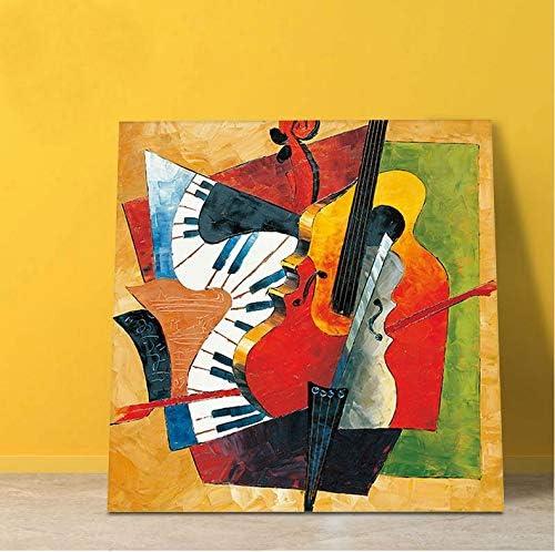 Pintura Al Óleo DIY Picasso Pintura Al Óleo Abstracta DIY Pintura ...