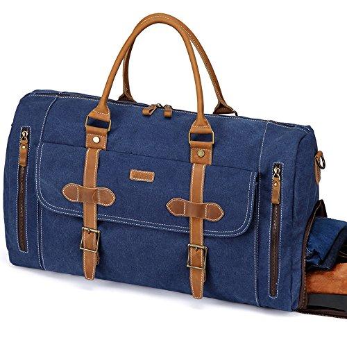 Denim Duffle Bag - 1
