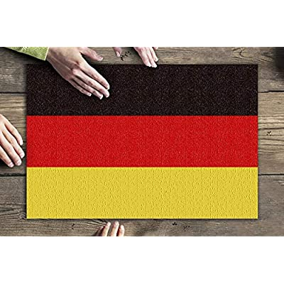 Germany Country Flag - Letterpress (Premium 500 Piece Jigsaw Puzzle for Adults, 13x19, Made in USA!): Toys & Games