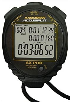 ACCUSPLIT AX602 500M Swimming Stopwatch