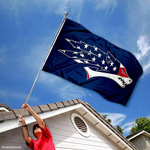 Nevada Wolfpack USA Flag Patriotic College Flag