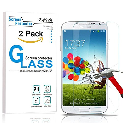 Tempered Glass Screen Protector for Samsung Galaxy S4 - 6