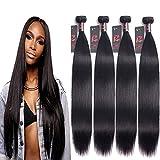 10A Malaysian Bundles Human Hair 22'' 24'' 26'' 28'' Straight 4 Bundles 100% Unprocessed Virgin Human Hair Weave Straight Malaysian Hair Resaca Hair