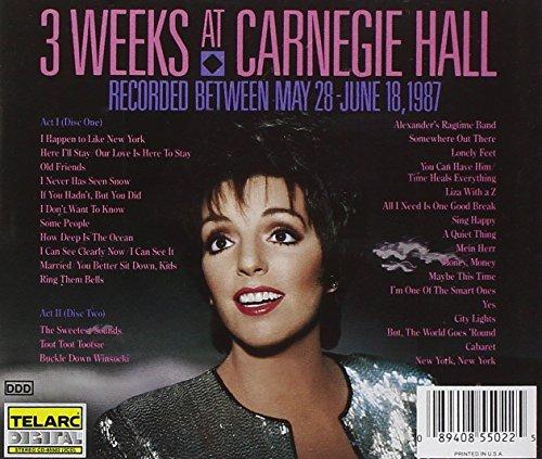 Liza Minnelli at Carnegie Hall by Telarc (Image #1)