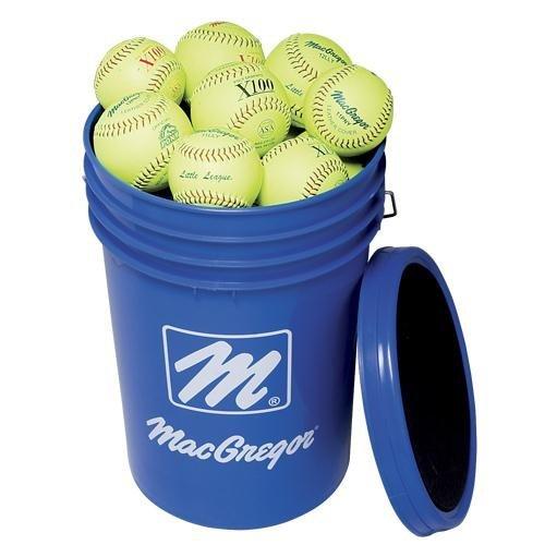 MacGregorのバケットイエローPractice B001CJ44BE Softballs B001CJ44BE 11 11, TWOFACE:c5a4442b --- sayselfiee.com
