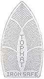 Jacobson Products Iron Safe Top Hat Premium Quality Ironing Shoe & Sole Plate - Prevents Scorching, Sticking & Shine