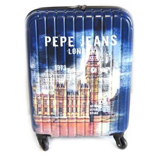 Amazon.com: Abs suitcase Pepe Jeansmarine (london)55 cm (0.00).: Clothing