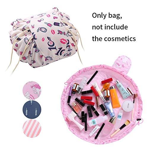 - Makeup Storage Bag Wear-resistant Portable Tavel Makeup Bag Cosmetic Pouch