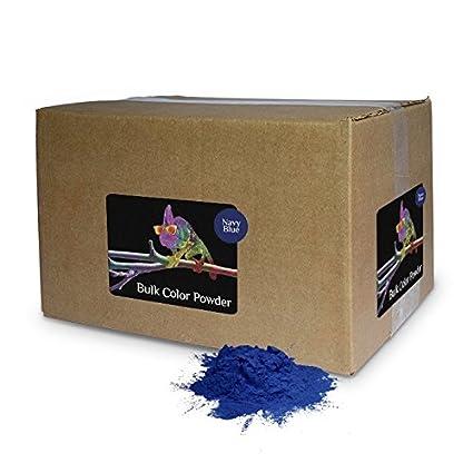 Amazon.com: Color Powder Navy Blue 25lb Box: Arts, Crafts & Sewing