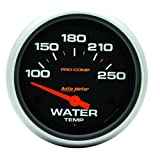 Auto Meter 5437 Pro-Comp Electric Water Temperature Gauge