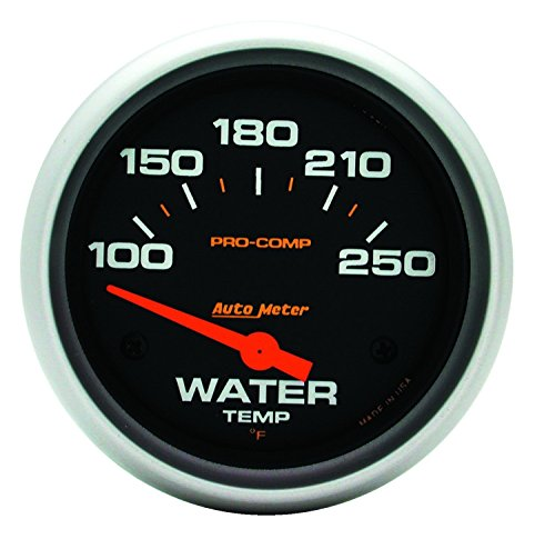- Auto Meter 5437 Pro-Comp Electric Water Temperature Gauge