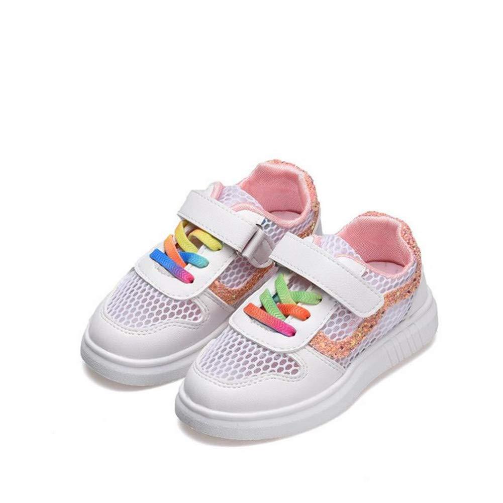 Baby Glittler Shoe Girls White Sneaker Fashion Kids Causal Flat Sneakers