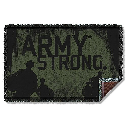 Army - Strong Woven Throw Throw Blanket 57 x 35in