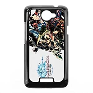 Final Fantasy HTC One X Cell Phone Case Black Zweqt