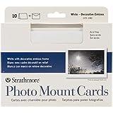 "Strathmore Cards & Envelopes 5""X7"" 10/Pkg-White Photo Mount"