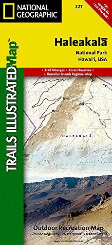 Haleakala National Park Trails (Haleakala National Park (National Geographic Trails Illustrated)