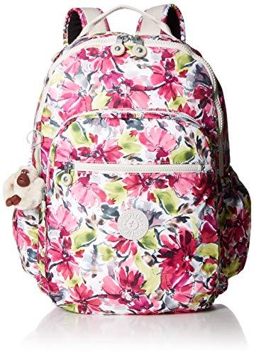 Kipling Seoul Go Laptop, Padded, Adjustable Backpack Straps, Zip Closure, Blushing - Backpack Adjustable