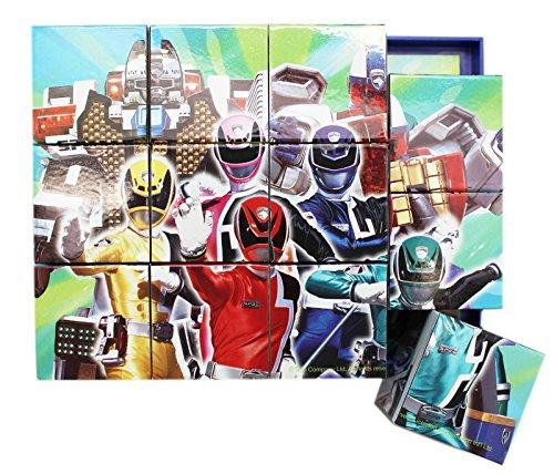 Power Rangers SPD Multi-Image Arrangeable Cube Puzzle